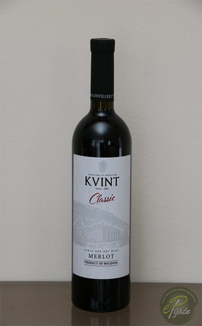 Wine Merlot, KVINT